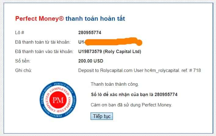 proof deposit rolycapital - [SCAM] HYIP - Roly Capital Review: Profit 2.25% daily for 21 days