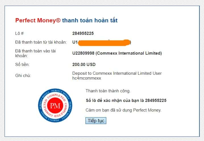 proof deposit commexx - [SCAM] HYIP - Commexx Review: Profit 2% daily for 45 days