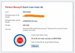 payment proof forries 300x212 - [SCAM] Forrise Review - HYIP: Long-term investment projects