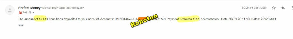 robot 2811 1024x137 - [SCAM] Roboton Review - HYIP: Profit 1% per day for 11 work days