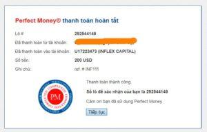 payment proof inflex capital 300x192 - [SCAM] Inflex Capital Review - HYIP: Profit 2% per day